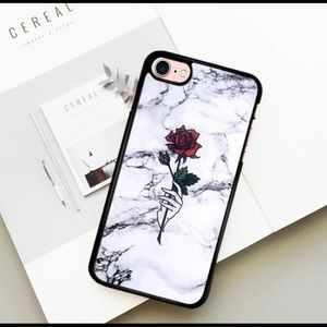 Accessories - Red Rose phone case for IPhone 7/8 Plus